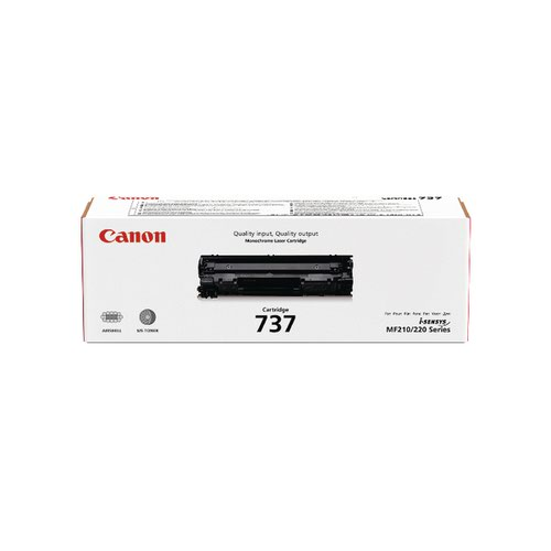 Canon 737 Black Laser Toner Cartridge