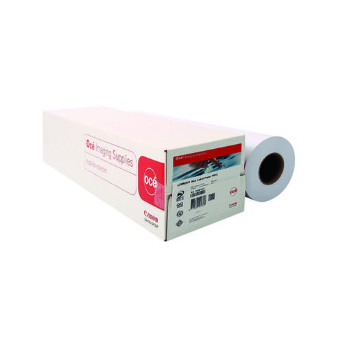 Canon Plain Uncoated Label Paper 841mm x 175m Red 99967977