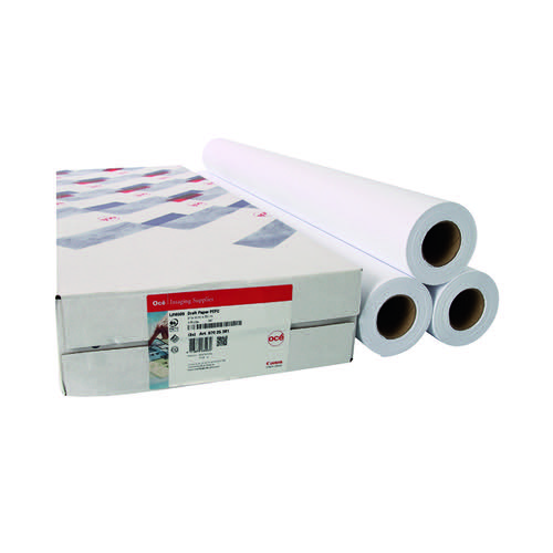 Canon Uncoated Draft Inkjet Paper 914mm x 91m 97025851