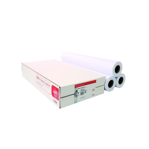Canon Uncoated Standard Inkjet Paper 914mm x 50m (Pack of 3) 97003448