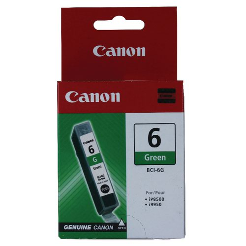 Canon BCI-6G Green Inkjet Cartridge 9473A002