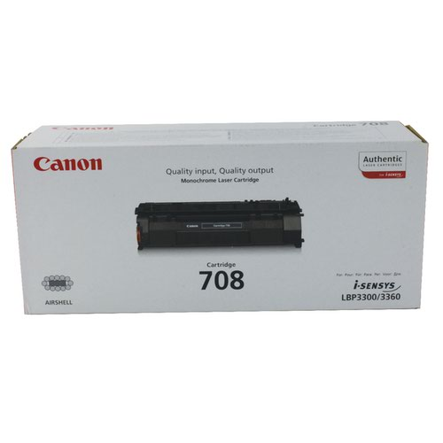 Canon 708 Black Toner Cartridge