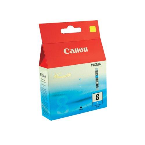 Canon CLI-8C Cyan Inkjet Cartridge 0621B001
