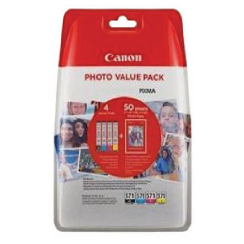 Canon CLI-571 Inkjet Cartridge Pk4