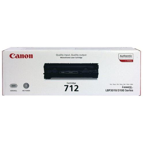 Canon 712 Black Toner Cartridge 1870B002