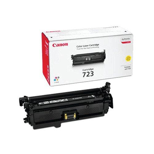 Canon 723Y Yellow Toner Cartridge