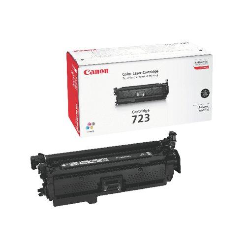 Canon 723BK Black Toner Cartridge