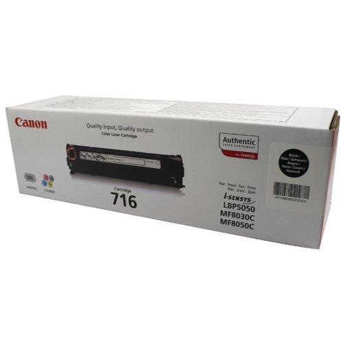 Canon 716BK Black Toner Cartridge