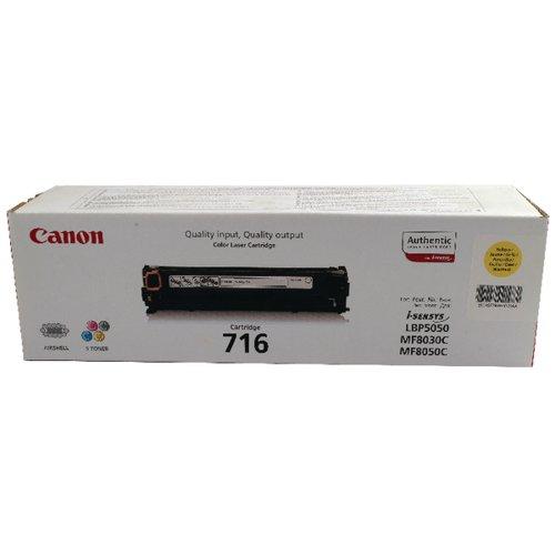 Canon 716Y Yellow Toner Cartridge