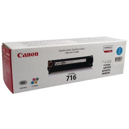 Canon 716C Cyan Toner Cartridge