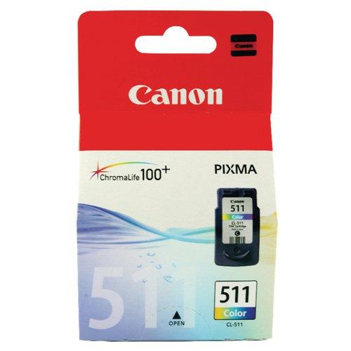 Canon CL-511 Colour Inkjet Cartridge