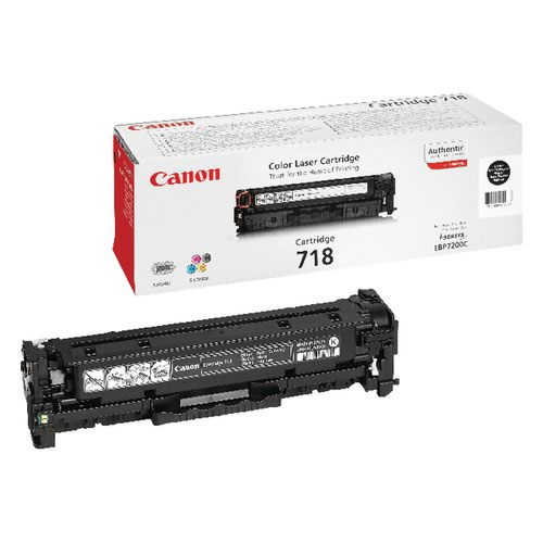 Canon 718VP Black Twin Toner Cartridges
