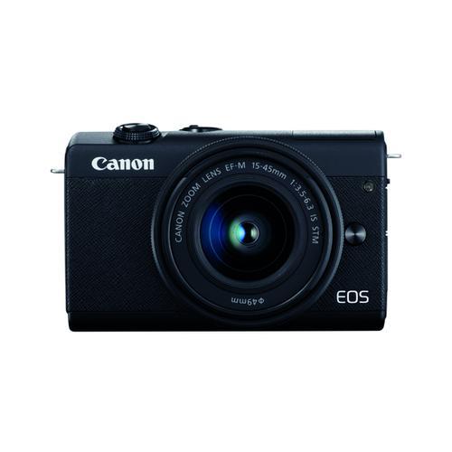 Canon EOS M200 Digital Camera With EF-M 15-45mm Lens Black 3699C028