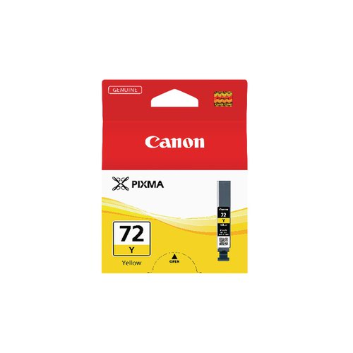 Canon PGI-72Y Yellow Inkjet Cartrdge 6406B001