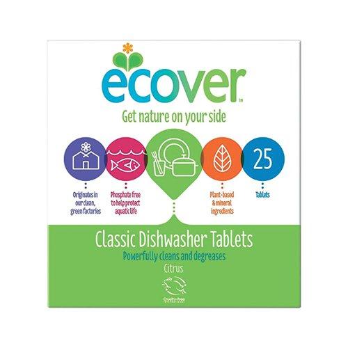 Ecover Dishwasher Tablets (Pack 25)