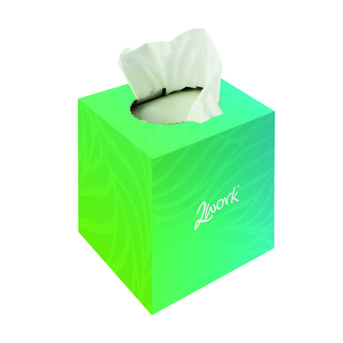 2Workl Tissue Cube Cream Box KMAX10010