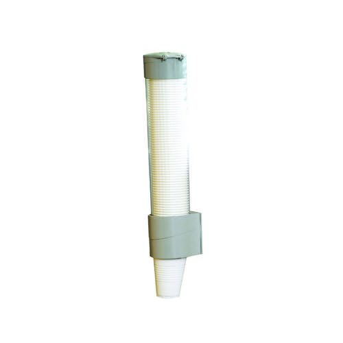 Clear Plastic Water Cup Holder and Dispenser