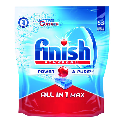 Finish Turbo Dishwasher Tabs Pk52