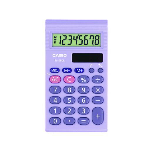 Casio SL-460 Pocket Calculator SL-460L-S-UP