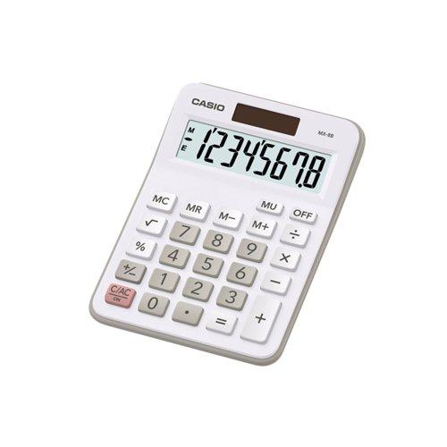 Casio MX-8B-WE Desktop Calculator CS16415