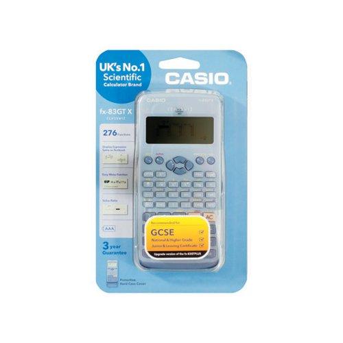 Casio Scientific Calculator FX-83GTXBLUE