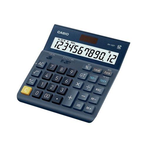 Casio DH-12ET 12 Digit Desk Calculator