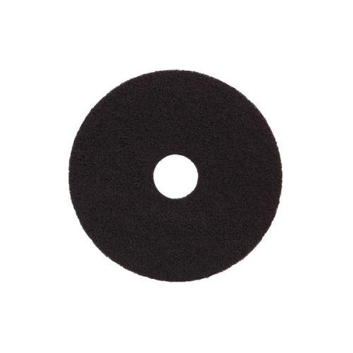 Image for 15in Standard Speed Floor Pad Black (Pack of 5) 102472