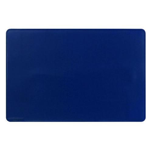 Durable Desk Mat Contoured Edge 650 x 520mm Dark Blue 710307