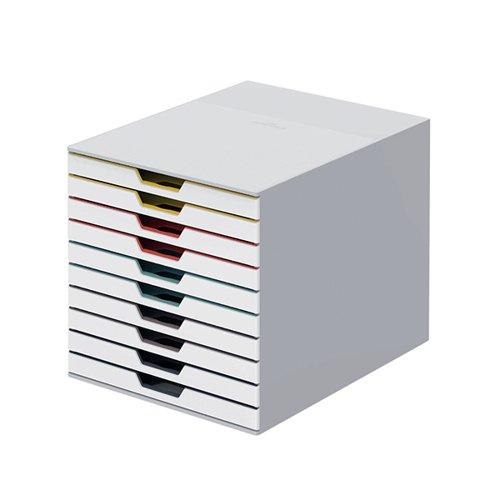 Durable Varicolor Mix 10 Drawer Unit 763027