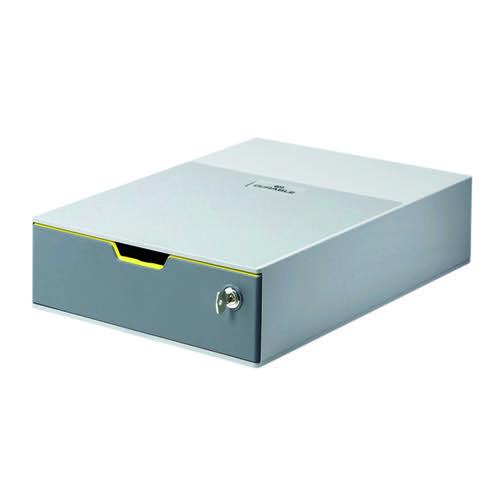 Durable Varicolor 1 Drawer Safe Grey 760127