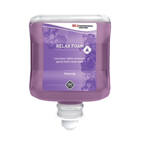 Deb Refresh Relax Hand Wash 1 Litre Cartridge (Pack of 6) ACF1000ML