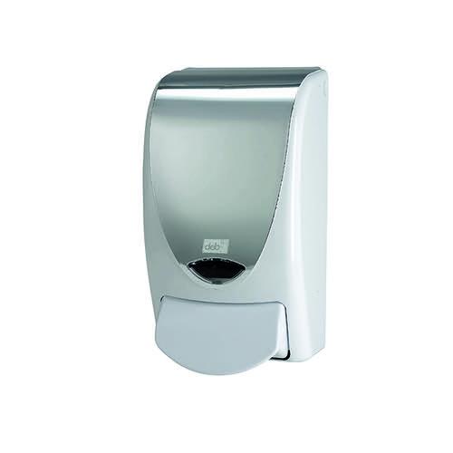 Deb Stoko Proline Chrome/White Dispenser