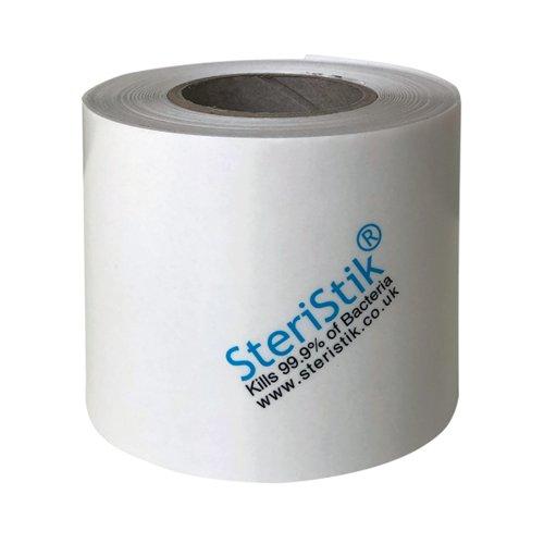 SteriStik Clear Tape Roll 75mmx25m