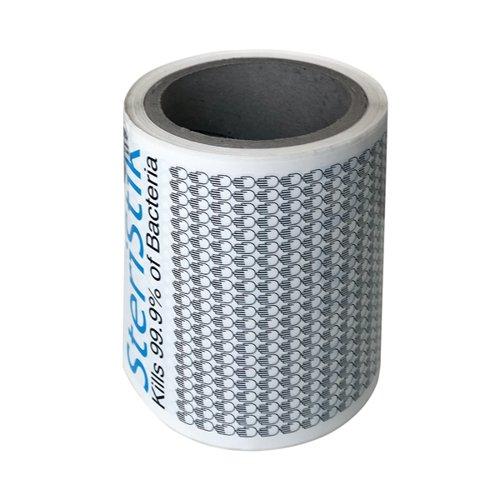 Deflecto SteriStik Door Push 480mm x 120mm (Pack of 10) STP-120