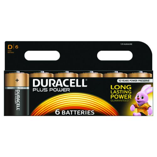 Duracell Plus D Battery (Pack of 6) 81275448