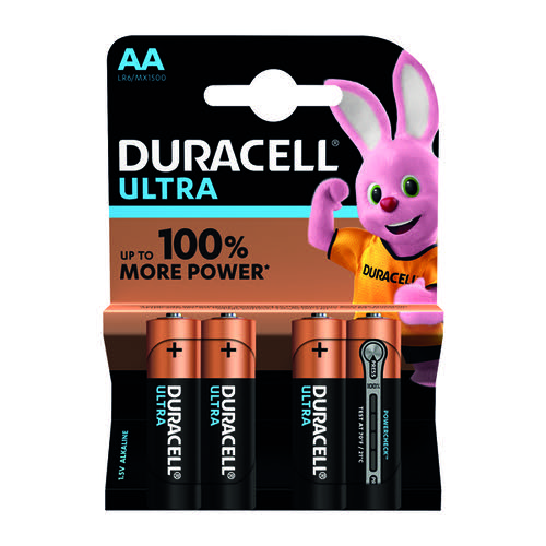 Duracell AA Ultra Battery Pk4