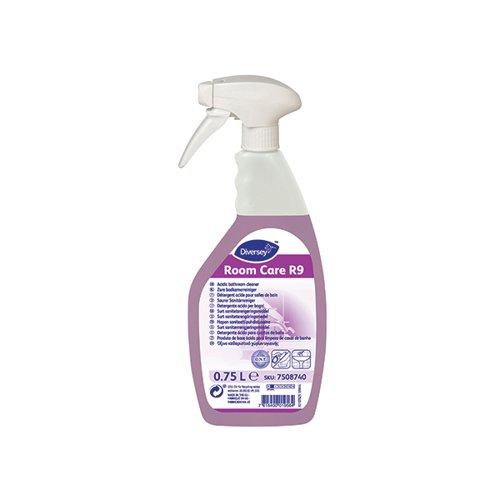 Diversey Room Care R9 Bathroom Cleaner 750ml (Pack of 6) 7508740