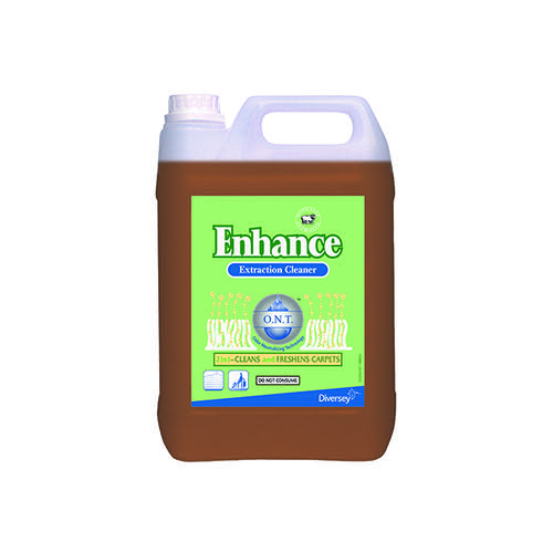 Diversey Enhance Carpet Extraction Cleaner 5 Litre (Pack of 2) 411100
