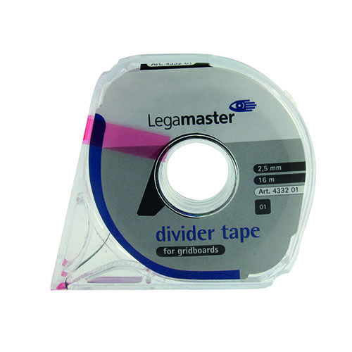 Legamaster Self-Adhesive Tape For Planning Boards 16m Black 4332-01