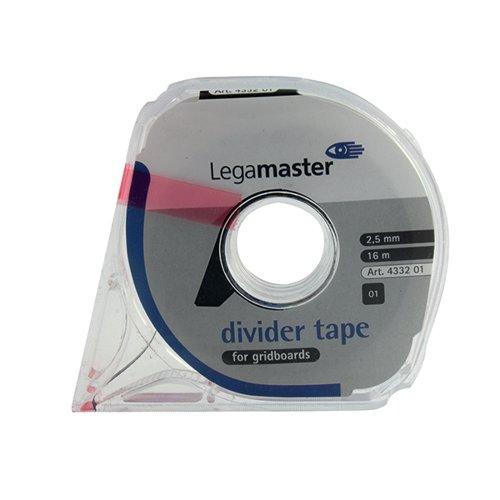 Nobo Adhesive Gridding Tape Black 1.5mmx10m Ref 1901120