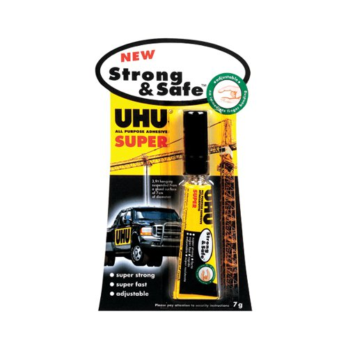 UHU All Purpose Strong And Safe Adhesive 7gm PK12