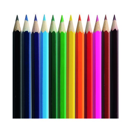 Classmaster Colouring Pencils Assorted (Pack of 500) CP500