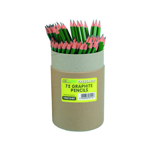 ReCreate Treesaver Recycled HB Pencil (Pack of 72) TREE72HBT
