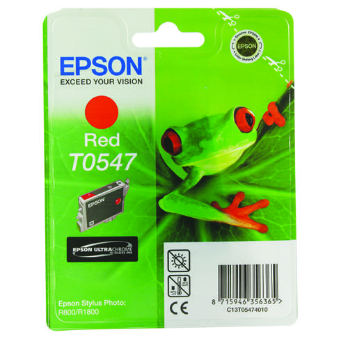 Epson C13T05474010 T0547 Red Ink 13ml