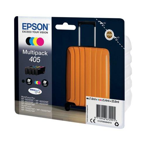 EPSON 405 MULT PK BK CMY STD INK CAR