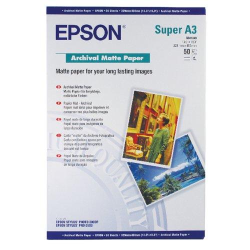 EPSON A3+ ARCHIVAL MATTE PAPER PK50
