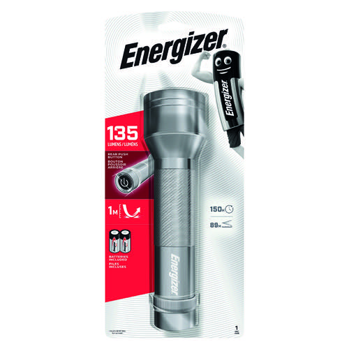 Energizer 2D LED Metal Torch (Requires 2 x D Batteries - included) 639807
