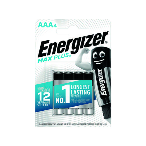 Energizer Max Plus AAA PK4