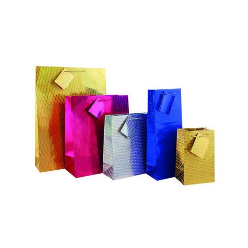 Holographic Gift Bag Medium (Pack of 12) FUNK3