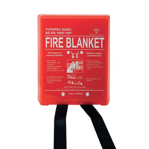 Fire Blanket Fibreglass 1800x1200mm FB64P